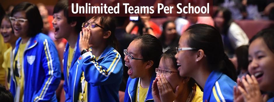 Unlimited teams per school